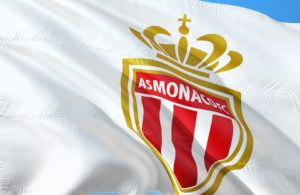 Drapeau AS Monaco