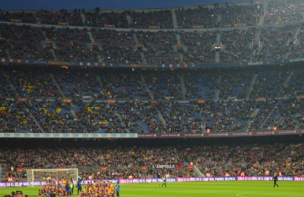 Le Camp Nou du FC Barcelone