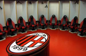 Milan AC vestiaire